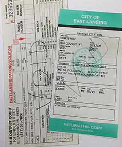 I Got a Ticket | East Lansing, MI - Official Website