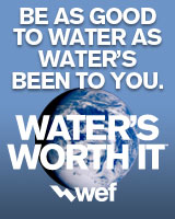 Be as good to water as water&#39s been to you. Water&#39s worth it.