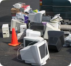 Computer Equipment To Be Recycled