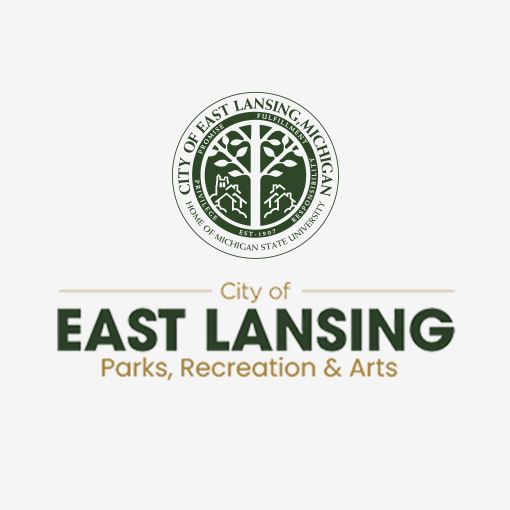 East Lansing Parks recreation and arts Logo