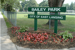 Bailey Park sign