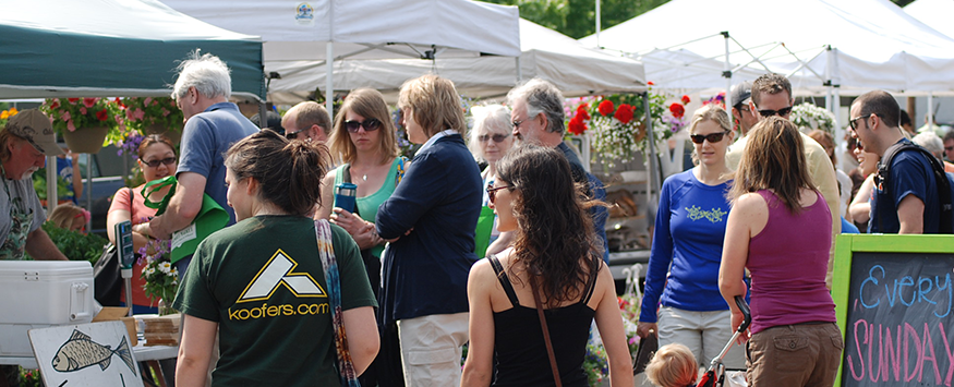 The East Lansing Farmer's Market will open on Sunday, June 7 for the 2015 season.