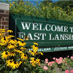 A Welcome to East Lansing